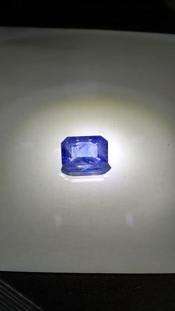 53ct unheated light blue included sapphire