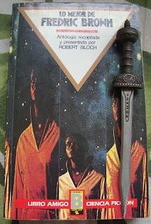 Portada del libro Lo mejor de Fredric Brown, de Fredric Brown