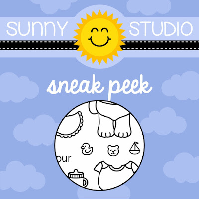 Sunny Studio Stamps: Baby Bear Stamp Set Sneak Peek
