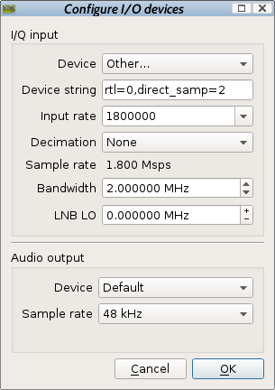 Rambling Moose: Installing a Software Defined Radio on Debian Linux