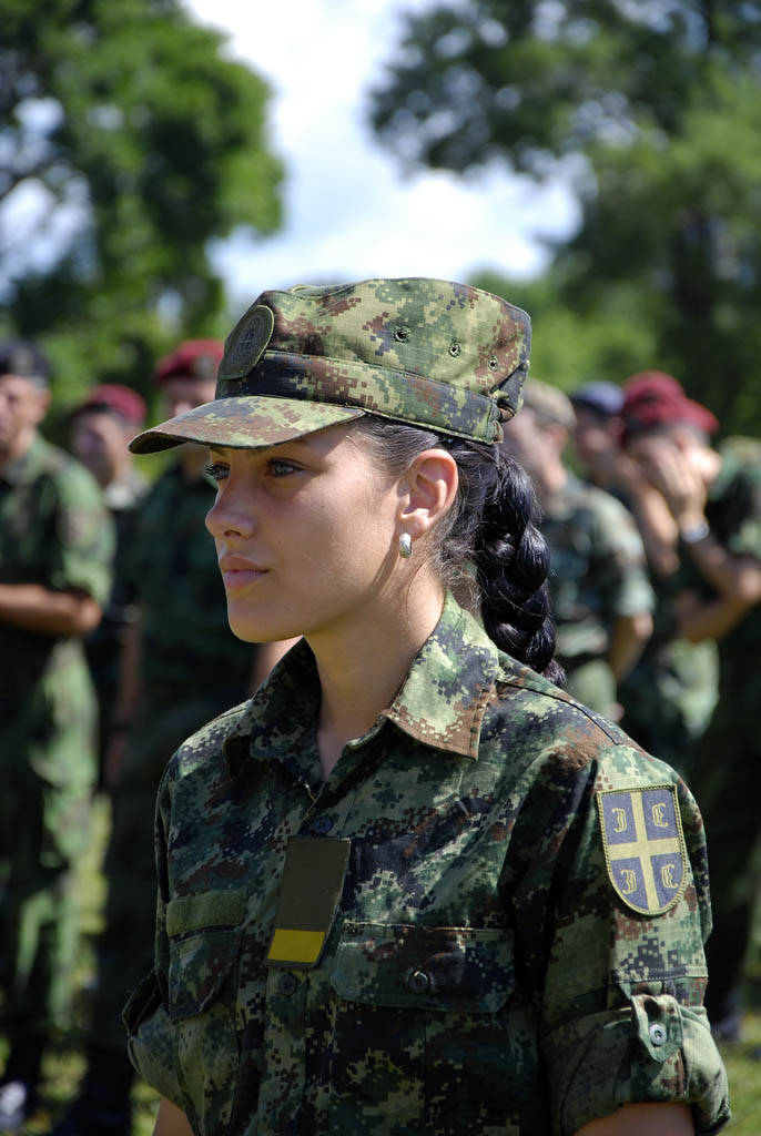 Beautiful Women in Israel Army   Women Army