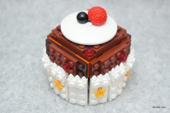 nobu_tary flickr esculturas de lego comidas cupcake
