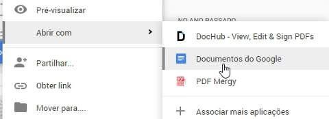 converter pdf em word no google docs