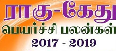 Rahu Ketu Peyarchi 2017 to 2019 – Srirangam Ravi
