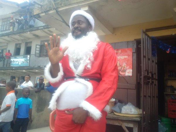 desmond elliott father christmas