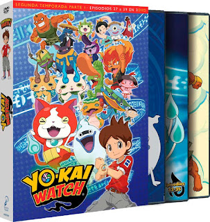 YO-KAI WATCH. Temporada 2 parte 1. episodios 27 a 39.