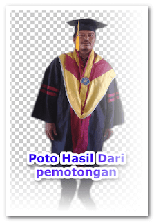 tutorial cara mengganti backround poto lewat photoshop