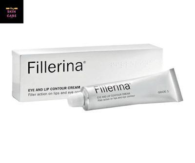 كريم fillerina plus eye and lip contour cream المخصص لمحيطي العينين والشفتين