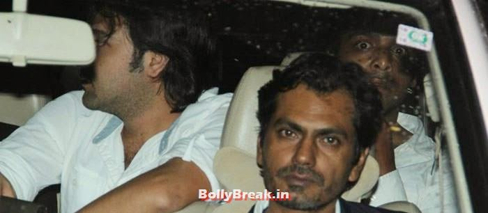 Nawazuddin Siddiqui, Celebs clicked at 'Kick' Special Screening at Yash Raj Studios