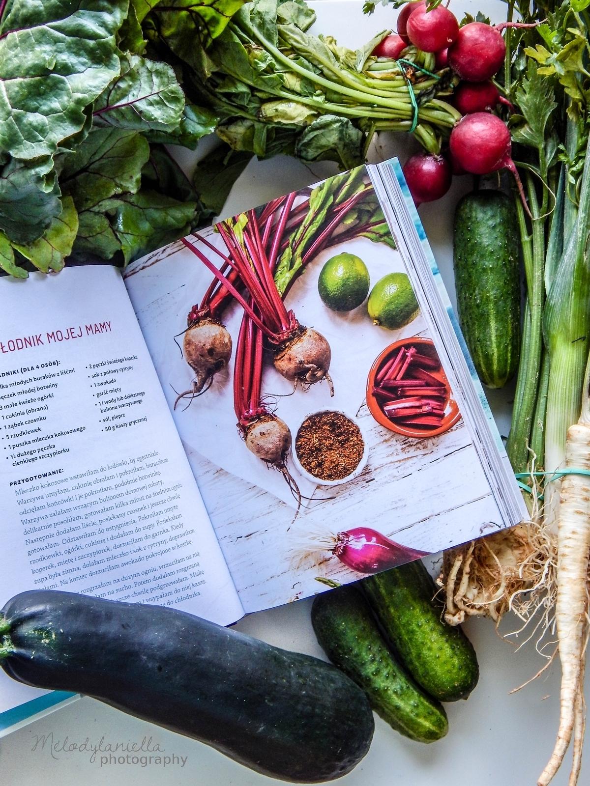 zdrowe gotowanie by ann anna lewandowska ksiazka kucharska recenzja melodylaniella jedzenie zdrowe ozywianie dieta porady fit health sportowa dieta.jpg chlodnik mojej mamy