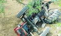 Τρακτέρ καταπλάκωσε και σκότωσε 61χρονο αγρότη στην Κεφαλονιά