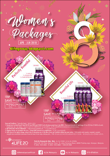 foto Women's Packages 4Life Malaysia