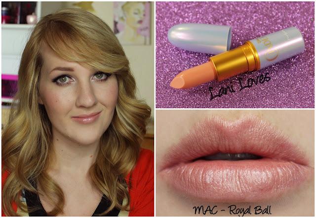 MAC Royal Ball lipstick swatch