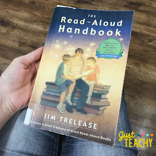 The Read-Aloud Handbook, www.justteachy.com