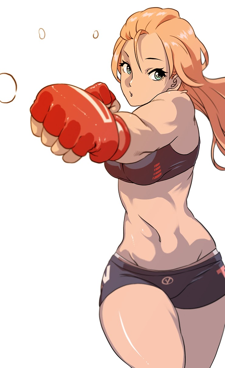 hot fitness anime