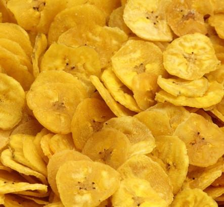 banana chips caseiro