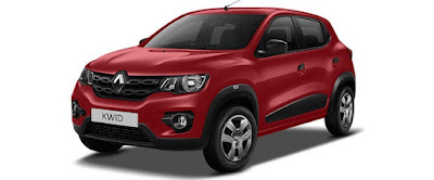 Renault Kwid Red picture