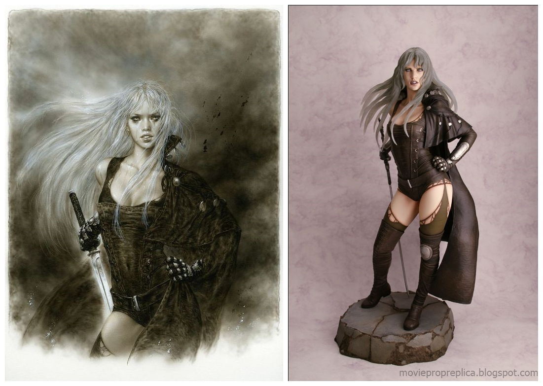 Luz Malefic by Luis Royo