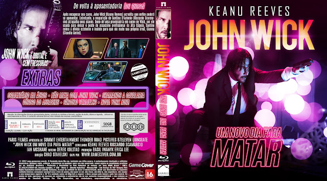Capa Bluray John Wick Um Novo Dia Para Matar [Exclusiva]