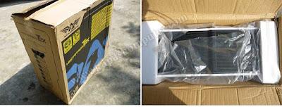 Box dari casing Armageddon T3X