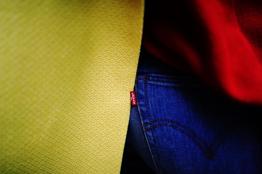 levis jeans branding
