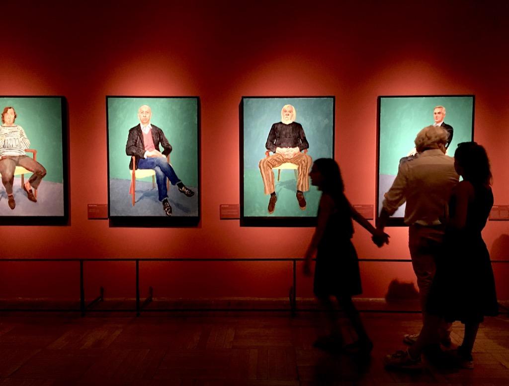 Contessanally venice ca pesaro galleria for David hockney venezia