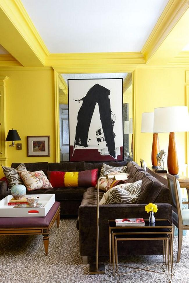 si quieres algo ms tpico entre las salas amarillas os mostramos esta sala de color pastel que puede ser ms tpica pero que a la vez ser ms fcil de