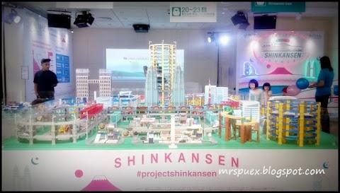 Pameran Projek Shinkansen Di ISetan The Japan Store LOT 10 Kuala Lumpur