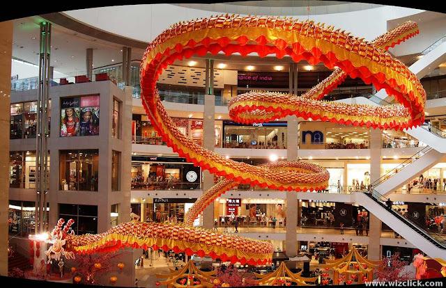 The Pavilion dragon stitch with Autostich