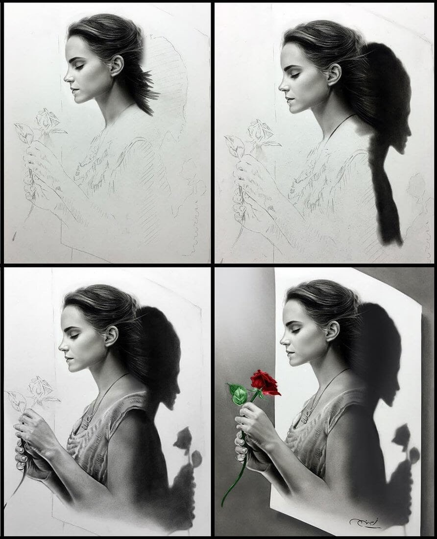 12-Emma-Watson-Aymanarts-Realistic-3D-Illusion-Portrait-Drawings-www-designstack-co