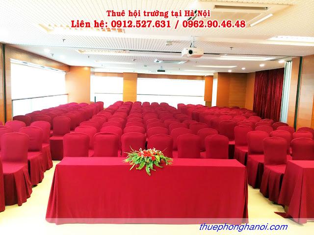 Cho thuê phòng hội thảo VIP từ 130 - 200 chỗ.