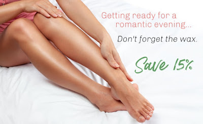 15% OFF WAXING ON TUESDAY & WEDNESDAY