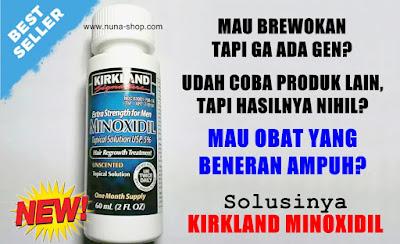 New Stock Kirkland Minoxidiil 5% Original Penumbuh Rambut & Brewok