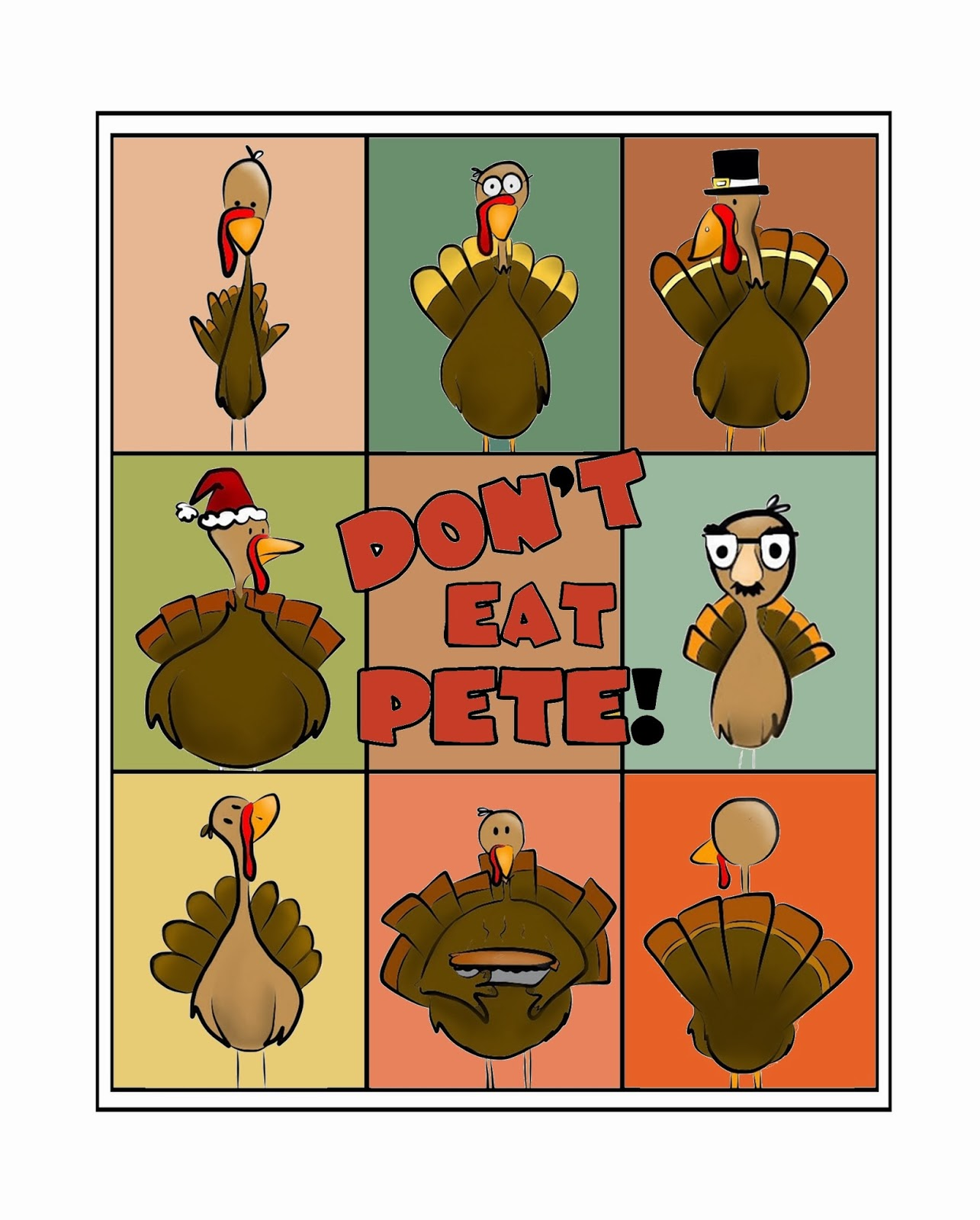 image relating to Don T Eat Pete Printable titled Dont Try to eat Pete!