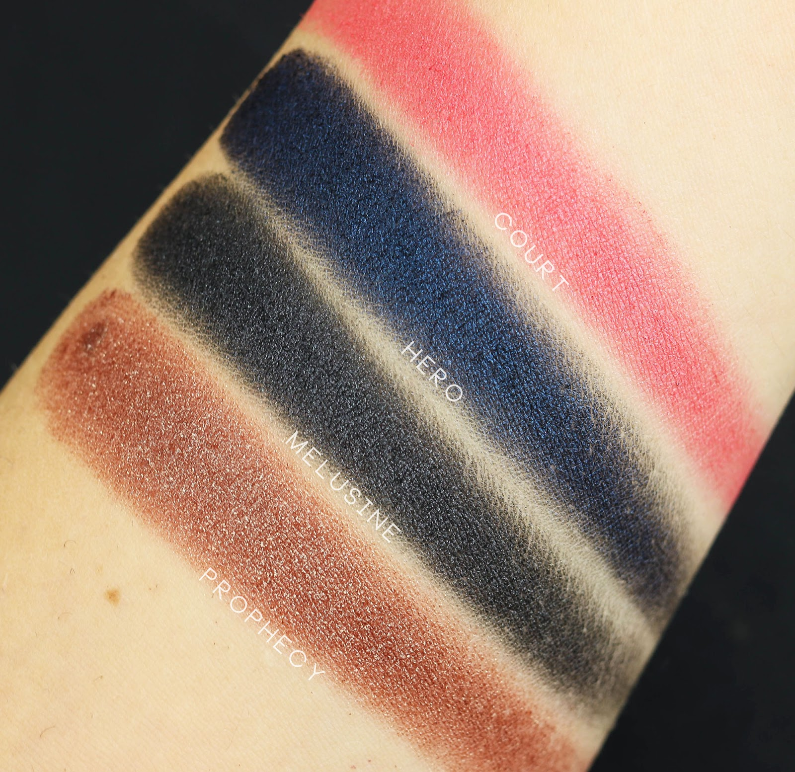 Neve Neogothic swatch review