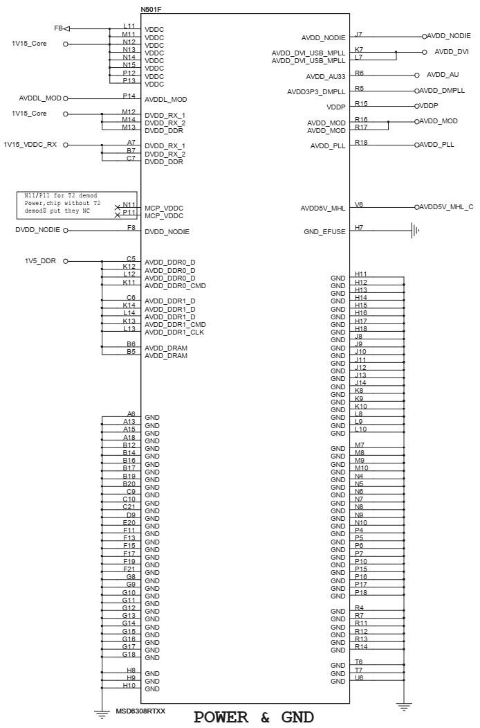 Electrotechnician: Toshiba 40L2500, Toshiba 43L2500