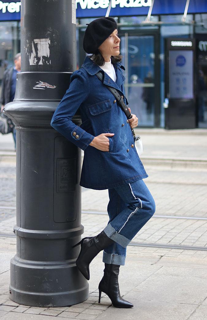 Jeans jak u Diora