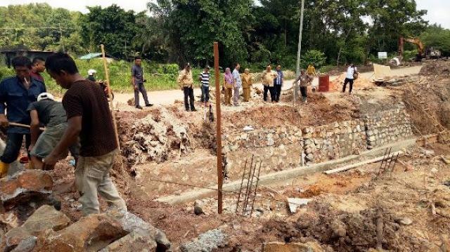 DPRD Kepri Minta Pembangunan Drainase Baloi Digesah, 2 Bulan Proyek Baru Kelar 18 Persen