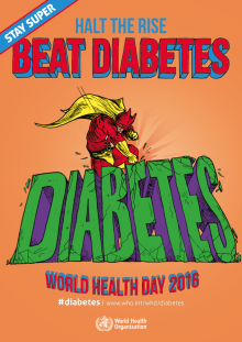 World Health Day 2016, Poster, WHO