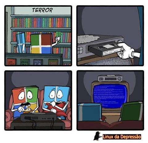 filme de terror dos windows
