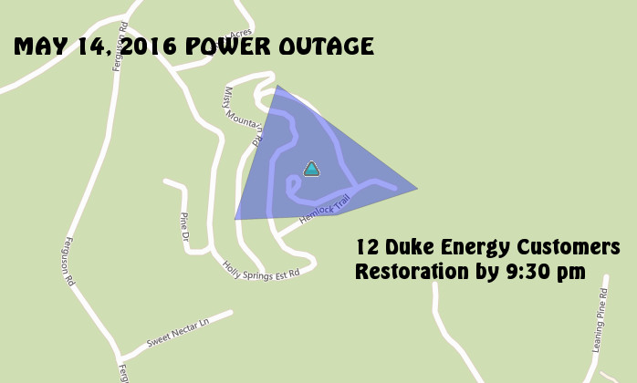 Reduced Outage Location