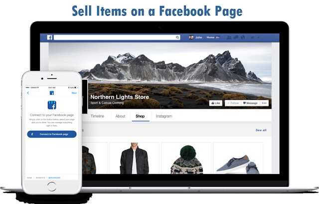 Facebook Page Marketplace