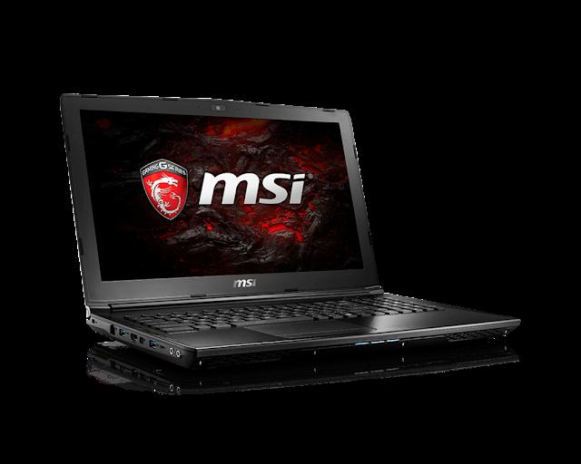 Harga dan Spesifikasi MSI GL62-7QF
