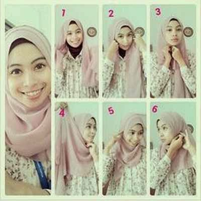 Tutorial Hijab Paris