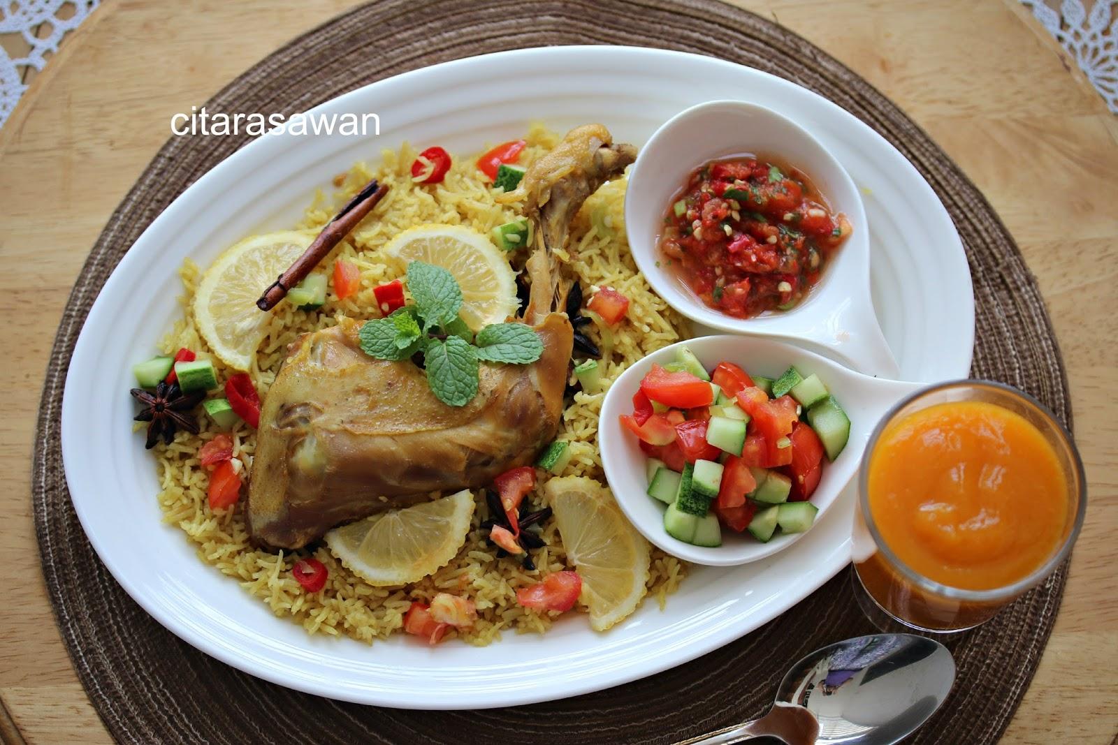 Nasi Arab Mandy / Mandy Chicken Rice ~ Resepi Terbaik
