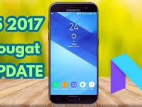 Tampilan setelah Update Android Nougat 7.0 pada Samsung Galaxy A5 2017