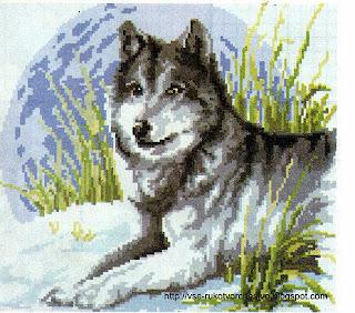 Волк - вожак стаи