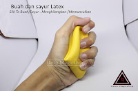 Jual alat sulap latex Banana