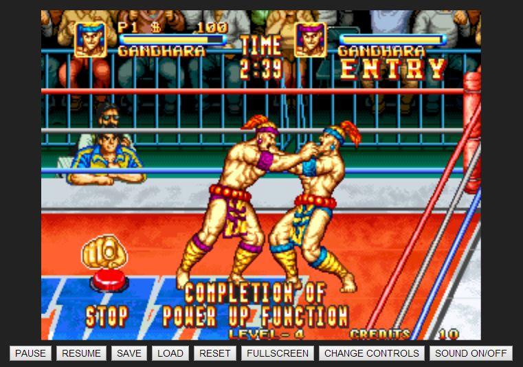 Retro Games Online Play