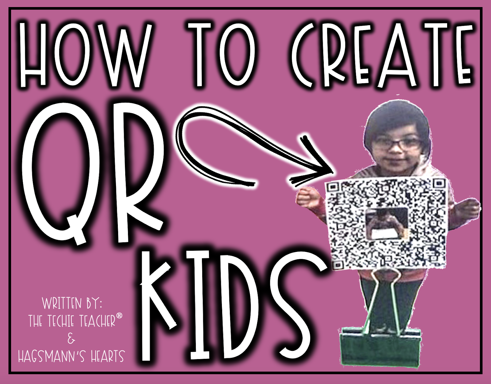 How to Create QR Kids: This project makes an adorable keepsake! Students can create a video or audio recording to link to a QR code.